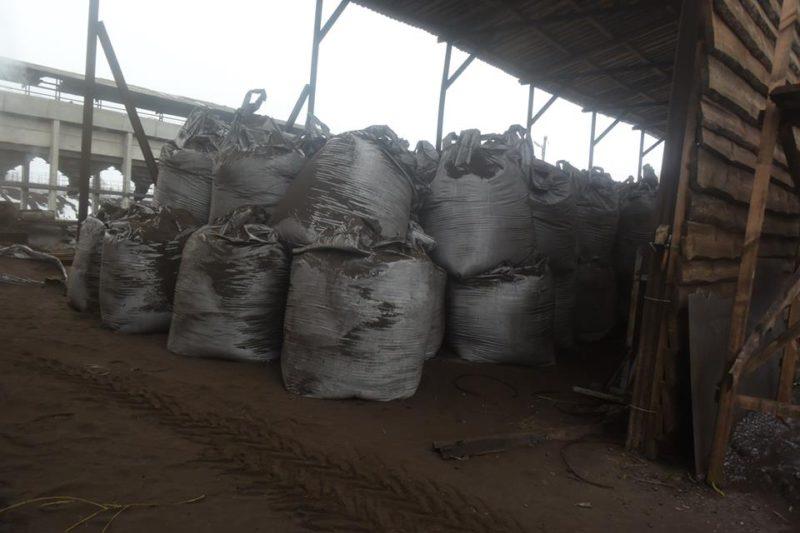 Peat dust