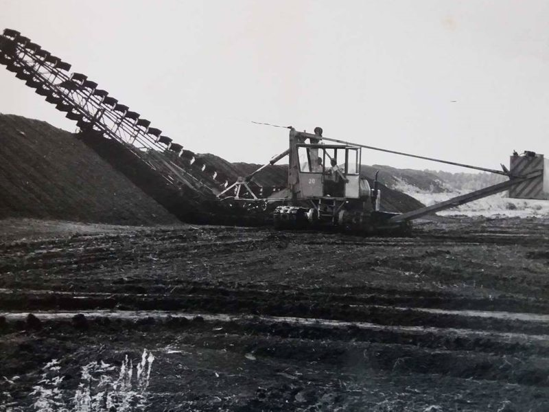 Brief history of Smolyn peat factory