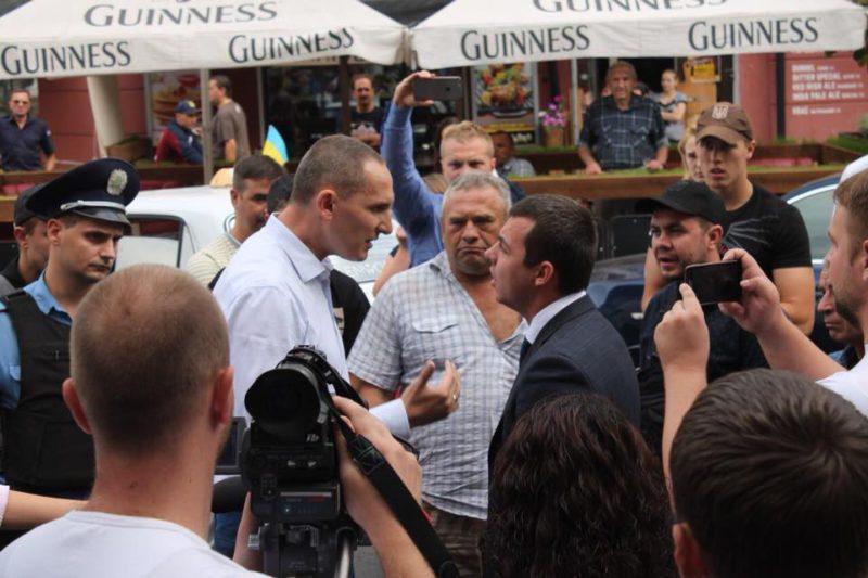 Дмитрий Блауш: «Министр Насалик, не копает себе яму»