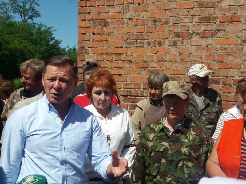 Ляшко відвідав Смолин. Фото