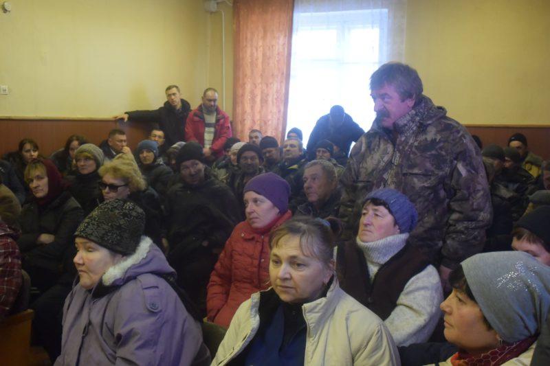Смолинські шахтарі висловили недовіру Рокоче та прогнали рейдера із заводу
